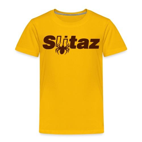 SliTaz Black Logo - Kids' Premium T-Shirt