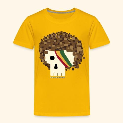 RASTA SKULL - T-shirt Premium Enfant