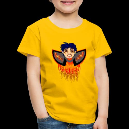 vampire en flamme - T-shirt Premium Enfant