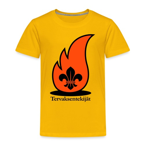 Terte lieskalogo mustaora - Lasten premium t-paita