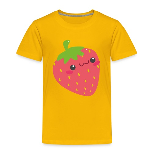 Erdbeere - Kinder Premium T-Shirt