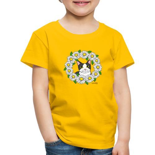 Flora - Lasten premium t-paita