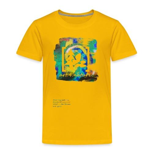 #art.4.nature / grün - Kinder Premium T-Shirt