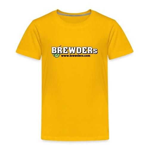 brewdersbranding weisse fuellung hopfen - Kinder Premium T-Shirt