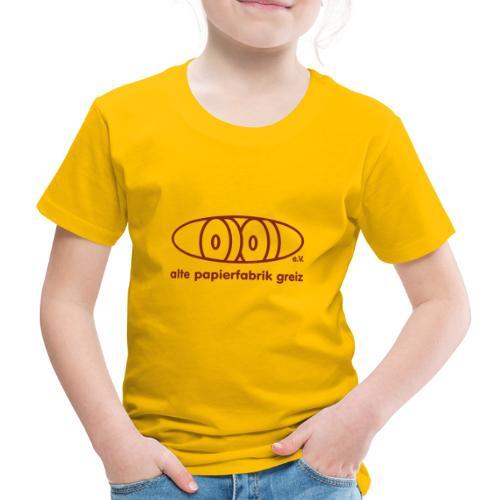 Logo Rot - Kinder Premium T-Shirt