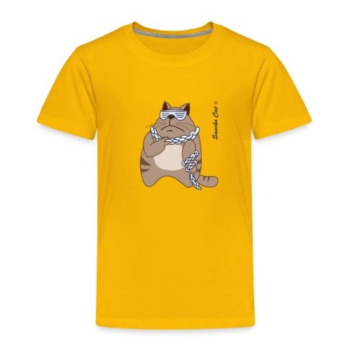 Cool - Sancho Cat © - Kinder Premium T-Shirt