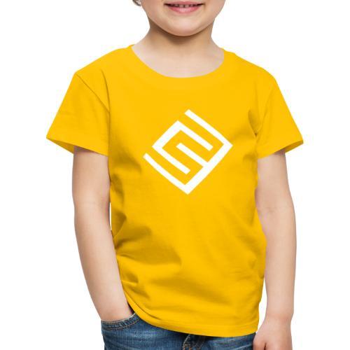 CW logo vit - Premium-T-shirt barn