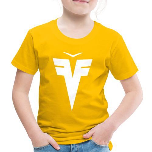 France Five épaules hexagone - T-shirt Premium Enfant