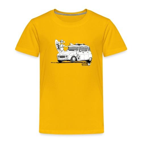 4L Surf - T-shirt Premium Enfant
