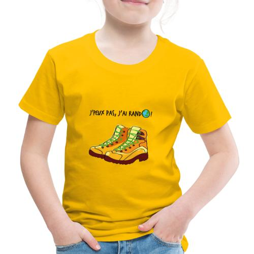 J'peux pas, j'ai rando ! - T-shirt Premium Enfant