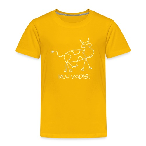 Comic Cow KUH VADIS - Kinder Premium T-Shirt