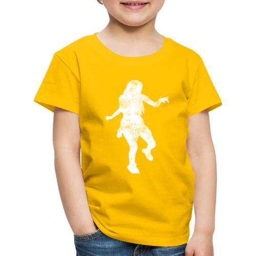 Shuffle Tanz Mädchen tanzt zur Musik - Kinder Premium T-Shirt