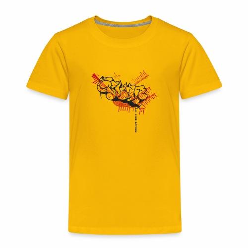 All Line Action ver01 - Børne premium T-shirt