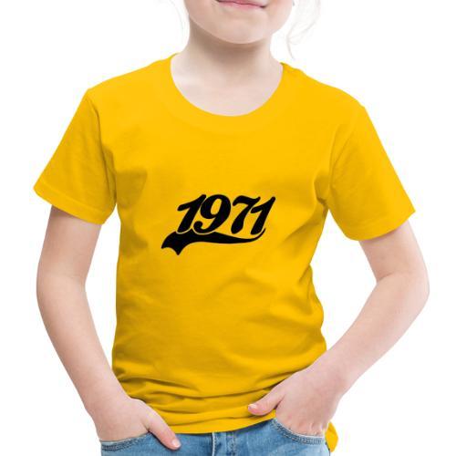 1971 Black Swoof - Kinder Premium T-Shirt