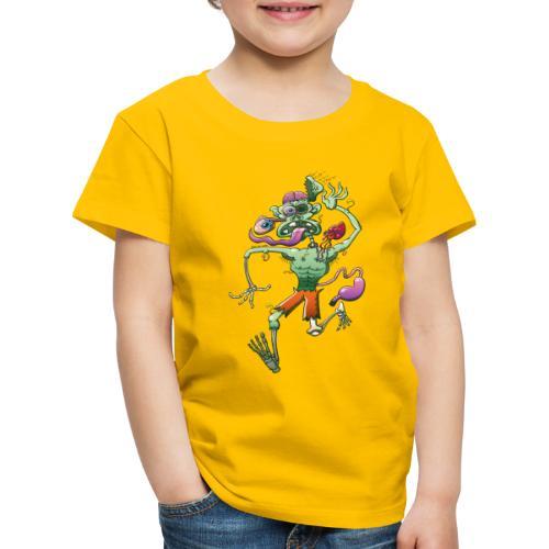 Zombie in Trouble Falling Apart - Kids' Premium T-Shirt