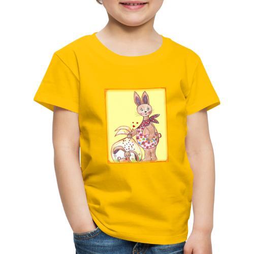 HäschenMama - Kinder Premium T-Shirt