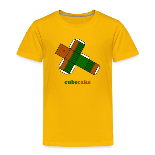 cubecake - Kinderen Premium T-shirt