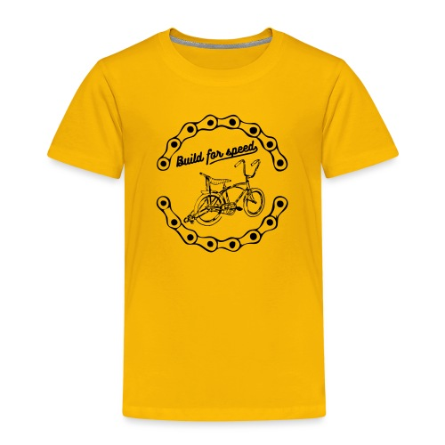 build for speed - T-shirt Premium Enfant