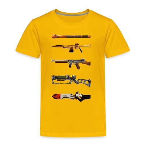 Pixel Weapon Progress - Kids' Premium T-Shirt