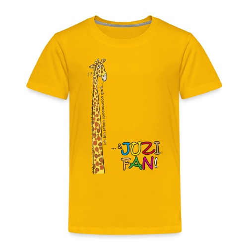 Sooo groß und JUZI-Fan - Kinder Premium T-Shirt