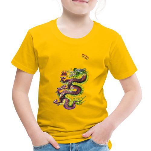 Dragon Randy Design - Kinder Premium T-Shirt