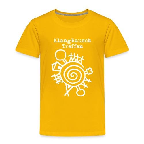 KlangRauschTreffen Logo mit Schrift - Kinder Premium T-Shirt