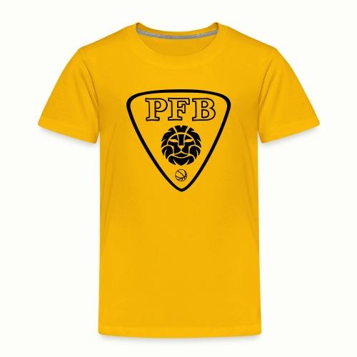 NEW LOGO PFB noir et blan - T-shirt Premium Enfant