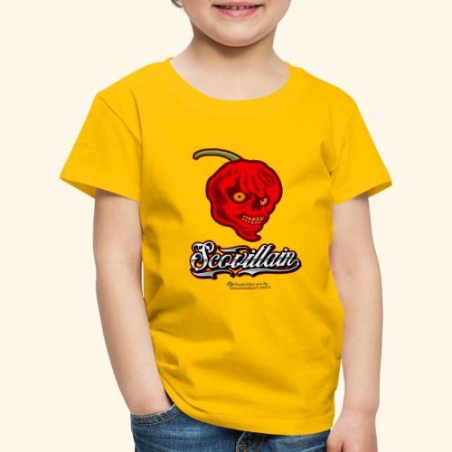 Chili Chilischote Chilihead Scovillain - Kinder Premium T-Shirt