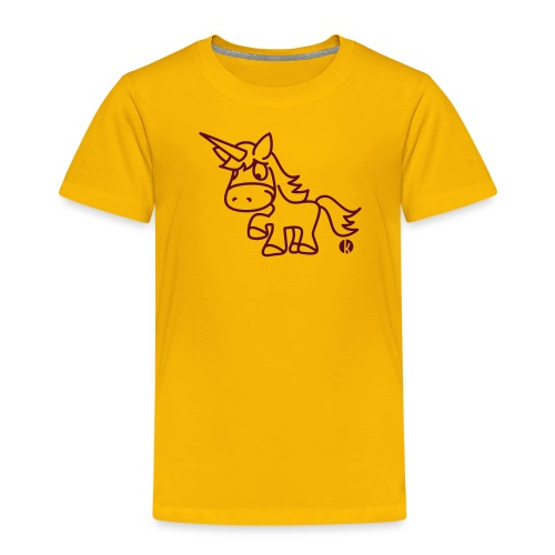 Einhorn - Unicorn - Kinder Premium T-Shirt