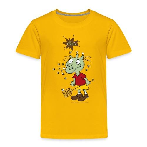 Oetinger Die Olchis und Fliegen - Kinder Premium T-Shirt
