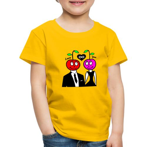 Happy Kirsche - Kinder Premium T-Shirt