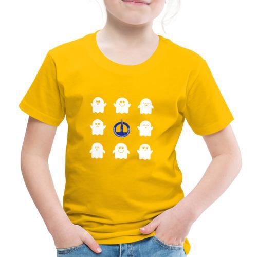 Das Bunte. Die Schulgeister in frischen Farben - Kinder Premium T-Shirt