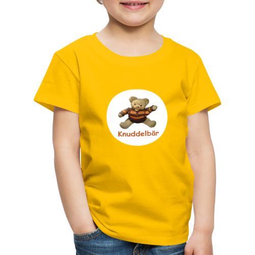 Teddybär Knuddelbär Schmusebär Teddy orange braun - Kinder Premium T-Shirt