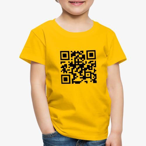 QR Code - Kids' Premium T-Shirt