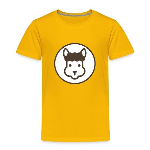 Llamalicious Logo - Børne premium T-shirt