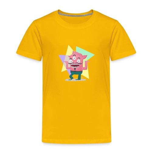 Dancing Monster - Kinder Premium T-Shirt