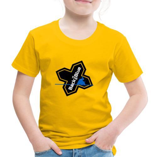 Back the Blue Rhinocross - T-shirt Premium Enfant