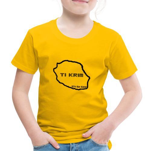Ti krim - noir - T-shirt Premium Enfant