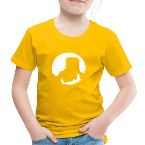 Logo French Wester blanc - T-shirt Premium Enfant
