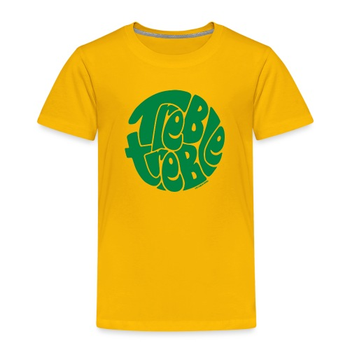 TrebleTreble Green - Kids' Premium T-Shirt
