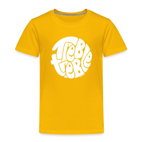 TrebleTreble White - Kids' Premium T-Shirt