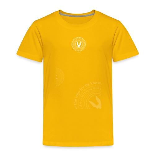 follow the circle white - Kids' Premium T-Shirt