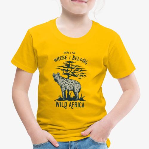 Hyäne - Kinder Premium T-Shirt