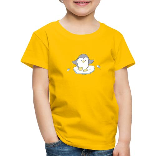 Penguin and fish - Kids' Premium T-Shirt