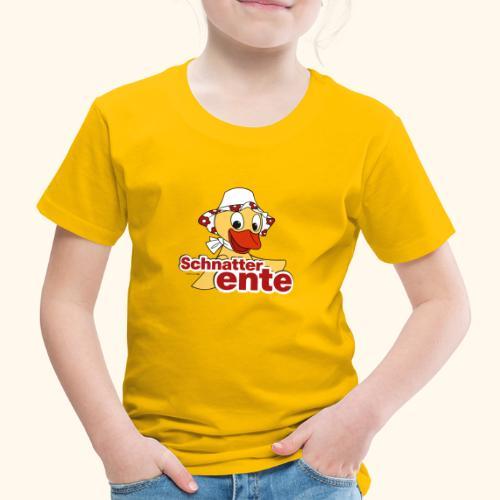 Schnatterinchen Schnatterente - Kinder Premium T-Shirt