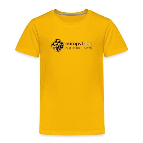 EuroPython 2020 - Black Logo - Kids' Premium T-Shirt