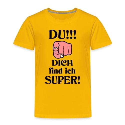 Wundervoller Besonderer Mensch Danke Lob Geschenk - Kinder Premium T-Shirt