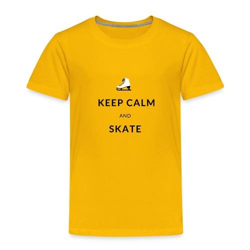 Keep calm and skate - T-shirt Premium Enfant