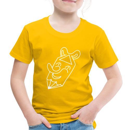 Der kleine lachende Stift, weiss - Kinder Premium T-Shirt