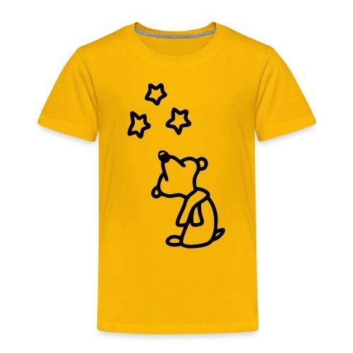 Bär - Sterne gucken - Kinder Premium T-Shirt